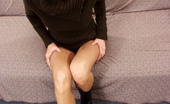 Leg Seeker Chiara Brunette In Sexy Black Stockings And Heels Leg Seeker