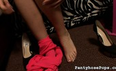Pantyhose Pops 526656 Chrissy Chrissy Is Back For More 97 Guess Who'S Back. That'S Right, Chrissy Came Running Back For Round Two On The Fucking Machine. This Time She Came Prepared In Sexy Lingerie And Super High Heels. Pantyhose Pops