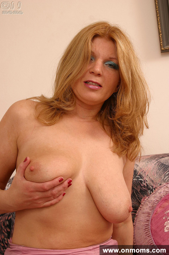 Tall Blonde Mature Big Tits