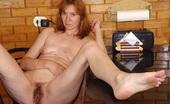 On Moms Mature Redhead Showing Hairy Pussy And Playing HerselfSlutty Mature Redhead Nastasia Undressing And Showing Her Hairy Pussy Before Starts To Play With It On Moms