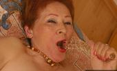 On Moms 526848 Mature Redhead Dildo MasturbationHorny Mature Redhead Susanna Fucks Her Mature Pussy With Glassy Dildo Toy On Moms
