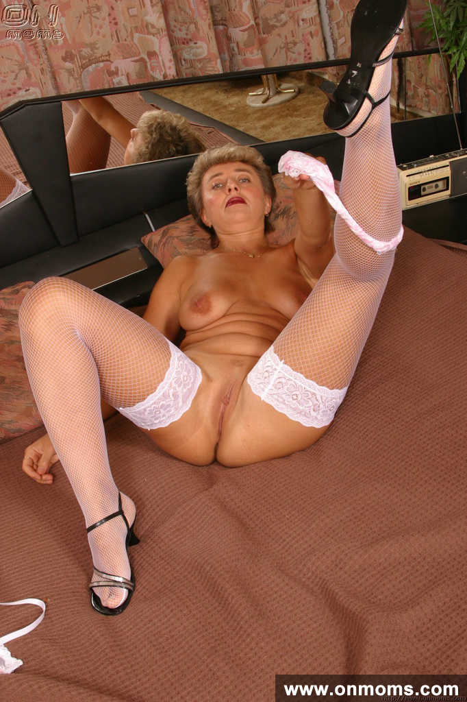 Mature Blonde Black Cock