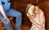 Old Man Tales Teen Jerks Old Meat Pig-Tailed Blonde Wanks Off Dad'S Old Pecker Old Man Tales