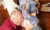 Old Man Tales Can'T Resist The Dad Slim Chick Couldn'T Resist Taking Old Dude'S Meat Old Man Tales