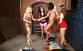 CFNM Max Sister Can You Spare A DimeThese Rowdy Chicks Weren'T Happy About Getting Kicked Out Of The Club, So They Decided To Take Their Frustrations Out On This Guy Sleeping Outside The Club In Some Hot CFNM Action. These Three Dominant Females Stripped This Poor
