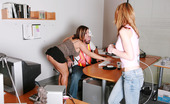 CFNM Max Construction GuyClaire, Jessica And Riley Were Pissed They Had To Stay Late At Work, So These Three Sexy Dominant Ladies Decide To Initiate An Unsuspecting Construction Worker Into The Ways Of CFNM. They Strip The Guy Down And Pin Him To A Chair As They S
