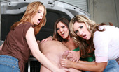 CFNM Max 528757 Stiffy LubeMechanics Always Think They Can Take Advantage Of Women, But This Wrench-Turner Took On More Than He Bargained For With These Three Pissed-Off Chicks. First They Strip Him Down, Tearing Off His Shirt And Pants And Then These Clothed Females Spa