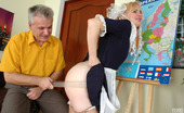 Girls For Old Men Inessa & Caspar Ponytailed Coed Spanked And Fucked By Her Old Teacher For Her Poor Progress Girls For Old Men