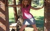 Eye Candy Avenue 530193 Laura Denim Skirt Laura Is Looking Cute In Her Little Denim Skirt. Eye Candy Avenue