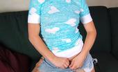 Eye Candy Avenue 530287 Kayla Turquoise Hearts Kayla Is Sexy Hiking Up Her Short Denim Skirt Eye Candy Avenue