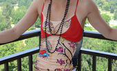 Eye Candy Avenue Marissa NN Perfect Perch Sexy Marissa On A Balcony Over Looking The City Eye Candy Avenue