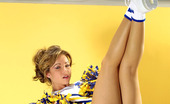 Amateurs Gone Bad Taylor Ann Brunette Taylor Ann In Her Cheer Uniform Playing Amateurs Gone Bad