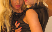 Blondie Blow Uncut Blondie Blow Shows Off Just How Much Of A Frisky Female She Is With Her Friend. Blondie Blow Uncut