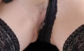 Lingerie Queens Busty Brunette In Sultry Black Underwear Gets Kinky Fingering Herself Lingerie Queens