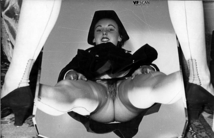 Винтаж порно униформа