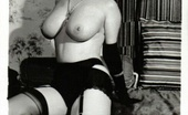Vintage Flash Archive Stocking Cuties, 1950'S Style! Vintage Flash Archive