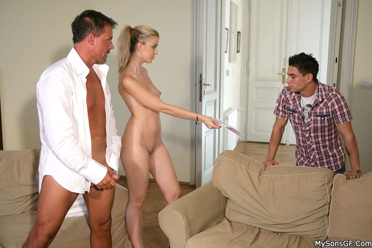 Dad His Friends Gangbang