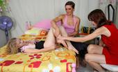 Moms Train Girls 537089 Frisky Moms Undress The Teen To Please Her Body Moms Train Girls