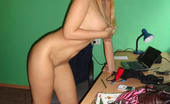 MILF Ex GF Blonde Milf Ex Girlfriend Sonya Takes A Break From Work And Takes Pictures Of Her Sexy Naked Body MILF Ex GF