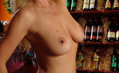 No 2 Silicone Nikita Hot Busty Bartender Hot Blonde Bartender MILF Showing Off Her Big Boobs No 2 Silicone