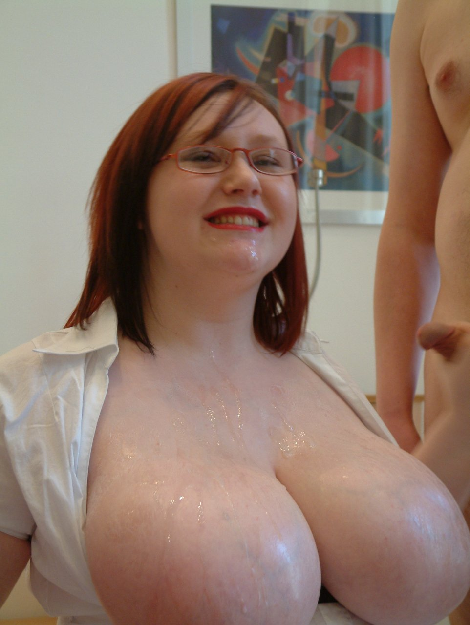 Pov Redhead Big Natural Tits