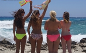 U Got It Flaunt It Danni A Group Of Girls Whom I Spotted In The Sea Sitting And Chatting. They Were All A Little Shy To Begin With But As Always When There Are Groups Of Girls It Soon Becomes Relaxed And They Start To Have Fun And Enjoy Themselves. They Also Got Some Nice V