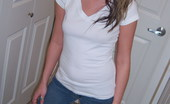 GND Cali Cute Topless Teen Cali Opens Her Jeans To Show Off Her Cute Panties GND Cali