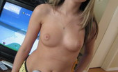 GND Cali Cali Loves To Play Her Video Games Topless GND Cali