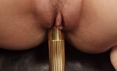 Sex Toys Porno Sexy Blond Babe Stretching Pussy In Pushing Dildo Sex Toys Porno