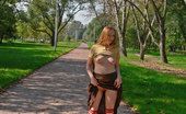 Dirty Public Nudity SheS Walking Around Naked At A Park Dirty Public Nudity