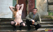 Dirty Public Nudity Cold And Snow WonT Stop Voyeur Addict Dirty Public Nudity