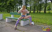 Dirty Public Nudity Freeway Drives See A Naked Girl Dirty Public Nudity