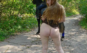 Dirty Public Nudity She'S Not Wearing A Single Thread Dirty Public Nudity