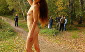 Dirty Public Nudity The Naughty Alisa Flashing Outside Dirty Public Nudity