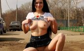 Dirty Public Nudity Ninel Gives A Public Blowjob Dirty Public Nudity