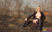 Dirty Public Nudity Natasha And Kasper Get Kinky Outside Dirty Public Nudity