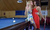 Pantyhose 1 Lieila & Margo Sapphic Players Mount A Pool Table And Eat Pussies Through Nylon Pantyhose Pantyhose 1