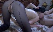Pantyhose 1 543858 Maggie & Bex Fervent Girls In Awesome Hosiery French Kissing And Lapping Up Wet Pussies Pantyhose 1