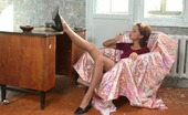 Pantyhose 1 Polina & Inga Hottie Seducing Gal While Teasing With Her Nyloned Legs In High Heel Shoes Pantyhose 1