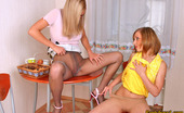 Pantyhose 1 Lauretta & Portia Steaming Hot Chick In Tempting Pantyhose Licking Warm Pussy Good And Hard Pantyhose 1