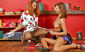 Pantyhose 1 Hannah & Jaclyn Sexy Babes In Stiletto Heel Shoes Getting Naughty Without Taking Off Tights Pantyhose 1