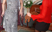 Pantyhose 1 Ira & Harriet Cutie In Lacy Pantyhose Thanking Dressmaker While Licking Succulent Pussy Pantyhose 1