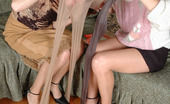 Pantyhose 1 Joanna & Irene Steaming Hot Chicks Caressing Their Perfect Bodies With Their Nyloned Hands Pantyhose 1