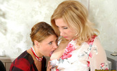 Pantyhose 1 Laura & Alice Lady-Boss In Black Pantyhose Seducing Her Secretary And Having Lesbian Sex Pantyhose 1