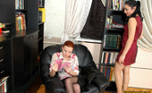 Pantyhose 1 Rosa & Marion Nyloned Babe Seduced By Her Female Friend Into Licking And Fingering Action Pantyhose 1