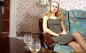 Pantyhose 1 Florence & Diana Hot Blonde In Brown Tights Playing With Dildo And Eating Her Friend'S Pussy Pantyhose 1