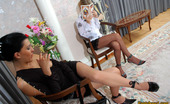 Pantyhose 1 544822 Leah & Laura Nasty Chick In Torn Hose Playing With Dildo And Enjoying Sultry Lesbian Sex Pantyhose 1