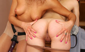 Pantyhose 1 Colette & Nora Funky Lesbo Using Her Strap-On For Hotter Sensations With A Pantyhosed Babe Pantyhose 1