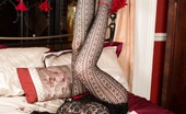 Pantyhosed 4 U Mistique Mystique With Legs, Long Lacy Pantyhosed Ones Sporting A Very Exotic Look... Pantyhosed 4 U