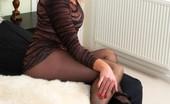 Pantyhosed 4 U Abi Toyne Abi Offers Up Her Nylon Clad Bottom And Pussy! Pantyhosed 4 U